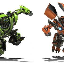 机器人三国人物模型 玻璃钢雕塑卡通人物造型 变形金刚 大黄蜂道�