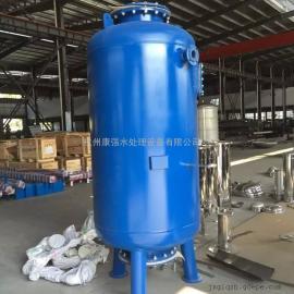 供应井水地下水除铁锰过滤器 出水水质清澈 达到生活用水标准