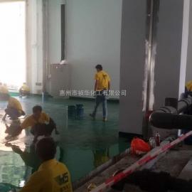 深圳沙井电镀厂―乙烯基(一布三涂)重防腐地坪工程质量保证