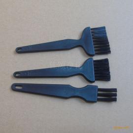黑色静电排刷 防静电刷子7束毛直柄排刷东莞厂家批发毛刷塑料