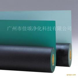 厂家直销双色防静电胶板抗静电台垫防静电胶皮 实验室桌垫