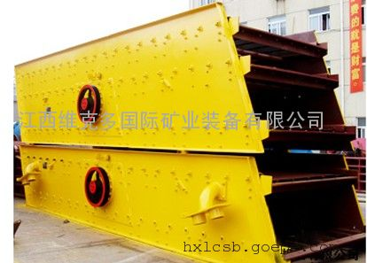 YK圆振动筛系列 采矿沙石行业必备设备 沙石筛分机生产厂家