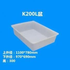 2015年新款200L养鱼塑料方箱/0.2立方塑料方箱厂家