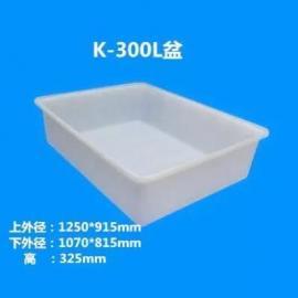 海宁加厚K-300L塑料方箱、食品专用塑料方箱质保多久?