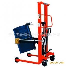 翻转油桶车手动油桶倒料翻转工具车手动液压工具车搬运车