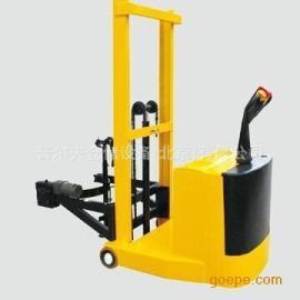 全电动油桶堆高车可翻转倒料天津全电动托盘搬运车全电动堆高车