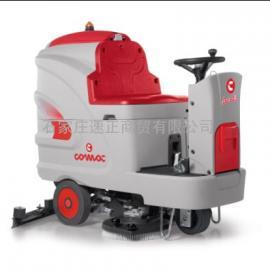 意大利高美Innova 100 B电瓶驾驶式洗地吸干机