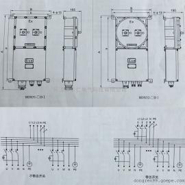 BDX-D系列防爆动力配电箱(动力检修)