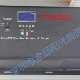 太阳能发电系统 1000W 12V逆变电源 家用逆变器生产厂家