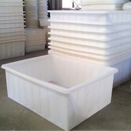 海盐县K800L塑料方箱水箱、耐强压白色塑料方箱专供印染厂