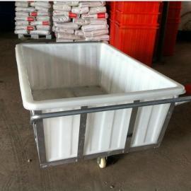 厂家直供舟山白色塑料方箱、1000L印染厂专用塑料方箱的价格
