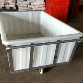 常州华社1200L塑料方箱、1.2立方染整厂专用塑料纺织方箱