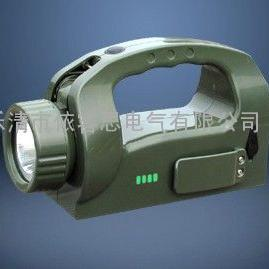手摇式充电巡检工作灯 远程强光手电筒