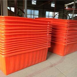 厂家直销PE1.5立方塑料方箱、山东塑料方箱价格