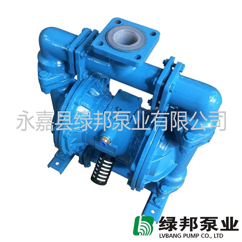 厂家直销QBK-40CF高强度衬氟气动隔膜泵 耐酸耐碱