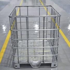 奉化0.5T白色塑料防冻液包装吨桶、优质涂料包装塑料吨桶