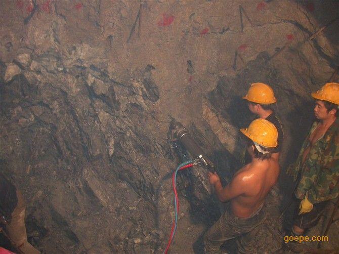 金矿洞采分裂机