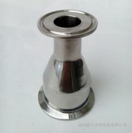 304不锈钢大小头 内外镜面抛光卫生级快装异径管