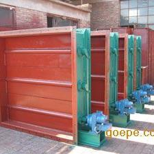 专业品质通风蝶阀 电液动矩形风门制造商-泊头宏驰机械