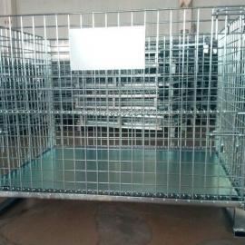 移动式铁筐,折叠式储物笼,东莞置物笼,储物筐