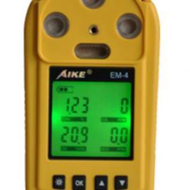 EM-4便携式四合一气体检测仪一氧化碳氧气可燃硫化氢澳洲新仪器