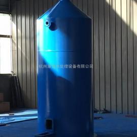 25T/H曝气塔配置除铁锰过滤器 降低地下水过滤设备