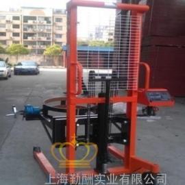 【油厂专用】FCS手动电子倒桶秤 现货销售油桶搬运车秤