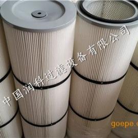 工业聚酯纤维无纺布粉尘滤芯