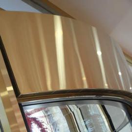 酒店\银行\商场等转门专用弧形PTC热风幕(颜色可与转门***接近)