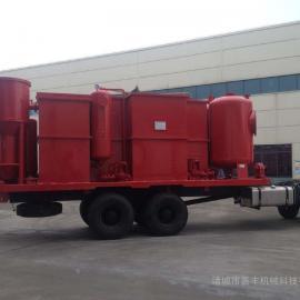 撬装式油田污水处理装置车载一体化污水处理设备