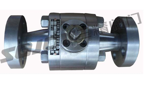 温州三精锻造高压对焊球阀 高温球阀-球阀-不锈钢焊接图片