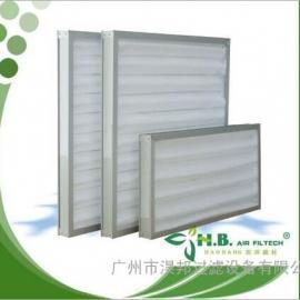 金属板式 板式折叠 子母框架板式过滤网 除尘过滤器
