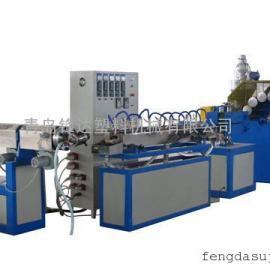 pvc纤维增强软管生产线青岛锋达塑料机械制造