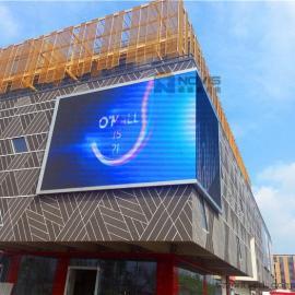汕头商场壁挂P8全彩LED电子屏