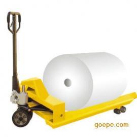 厂家直销 1吨纸卷搬运车 卷筒纸液压车 手动液压车手动搬运车现货