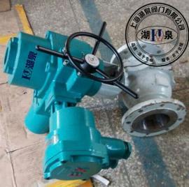 DN300电动法兰固定式球阀