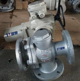 Q945F电动T型三通球阀
