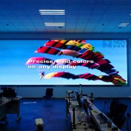 高清P1.667室内LED显示电视墙定做厂家