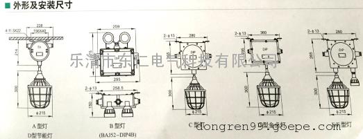 BAJ52-DIP粉尘防爆应急灯