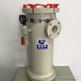 耐酸碱污水过滤器 PP大流量大口径袋式过滤器 高效水过滤器