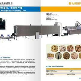 鼎润DSE-65大豆组织蛋白生产线