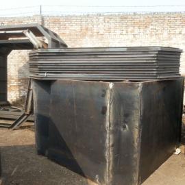 圆形化粪池钢模具