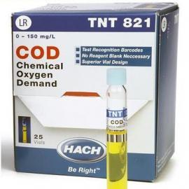 哈希化学需氧量试剂TNT820/TNT821/TNT822