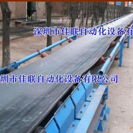 TD75型固定式带式输送机_矿用胶带输送机_建筑土方传送机