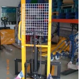 厂家直销手动叉车手动堆高车手动液压搬运车1.5吨全电动堆高车