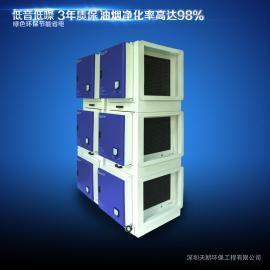 静电式超高效油烟净化器_无烟排放油烟净化器深圳天朗环保