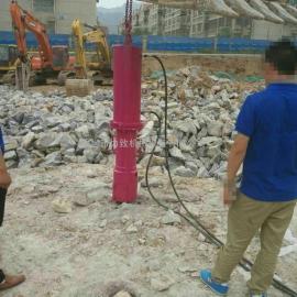 武汉静态爆破石头设备