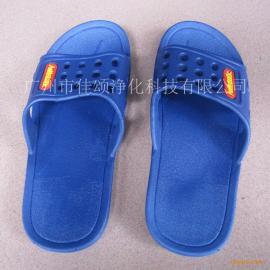 广州佳颂厂家批发防静电鞋子SPU拖鞋新款防静电洁净无尘鞋