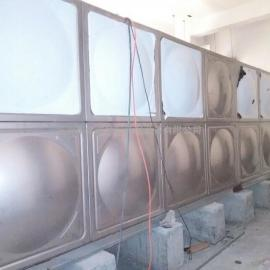 屋顶不锈钢生活用水水箱