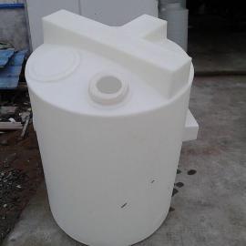 2T塑料加药箱2千公斤圆形加药箱2立方计量罐